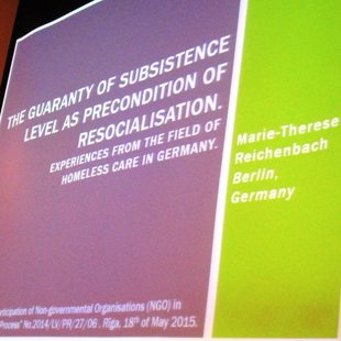 Doktorantes Marie-Therese Reichenbach prezentācija