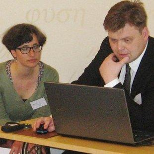Bruno Skara un Marie-Therese Reichenbach