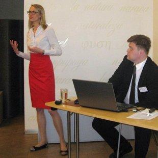 Igaunijas Tieslietu ministrijas pārstāve Laidi Surva